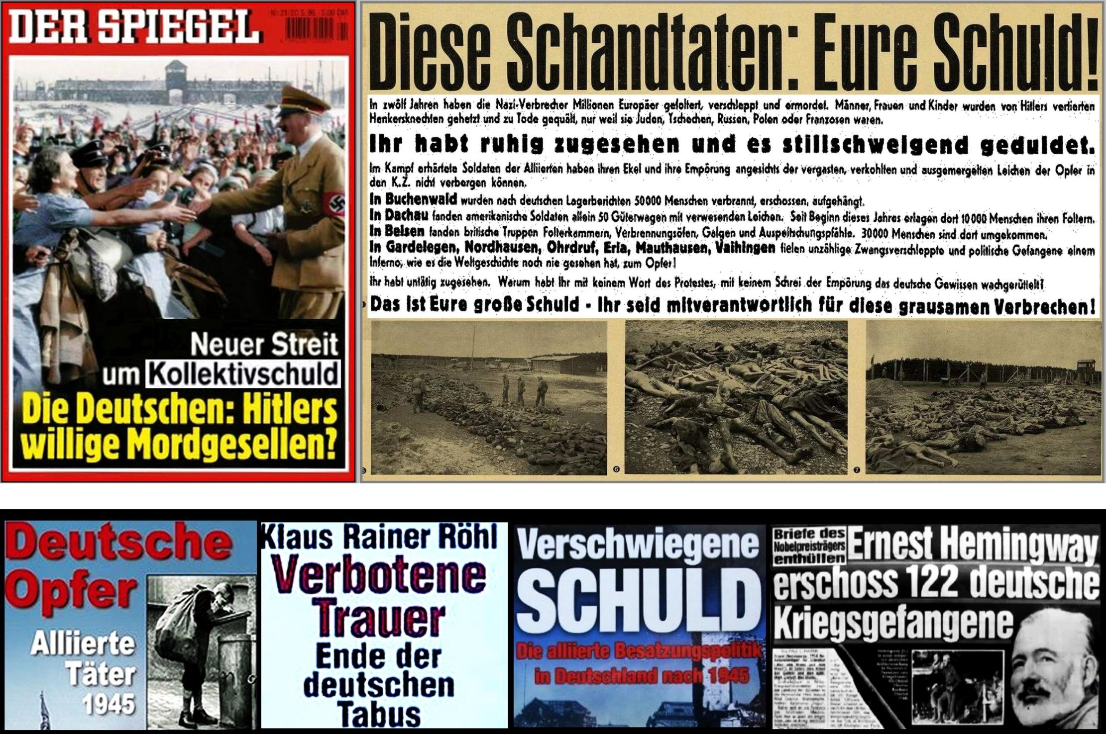 Bildergebnis für Kollektivschuld der Deutschen